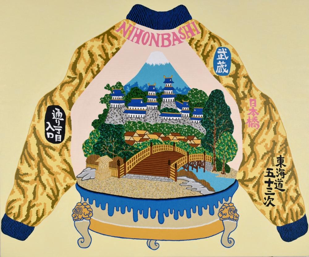 """吉成仁志/LANDSCAPE TOKAIDO53TSUGI """"NIHONBASHI""""/exid35388wid32707"""