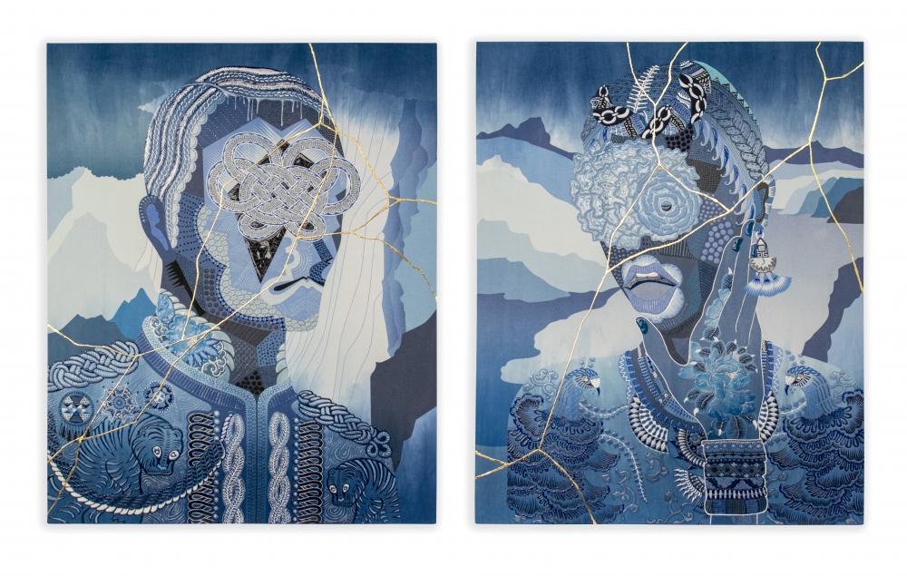 exid951wid907 / Men-UN / Women-A    -japan blue- #1