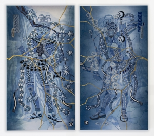exid49wid49 / vajrapani-UN / vajrapani-A    -japan blue- #1