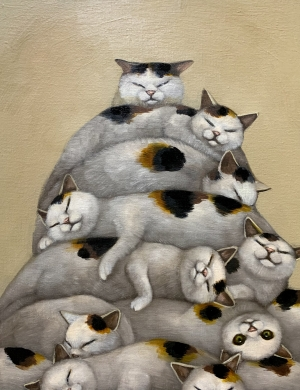 exid36366wid34723 / Pile of cats
