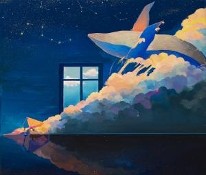 exid37070wid35427 / dreaming whale