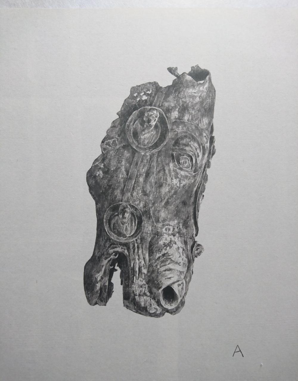 中島 淳志/古代ローマの馬頭/exid13927wid11540