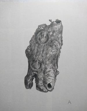 中島 淳志/古代ローマの馬頭