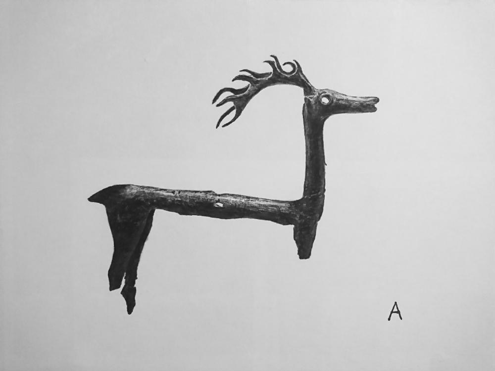 中島 淳志/ブロンズの牡鹿/exid13929wid11642