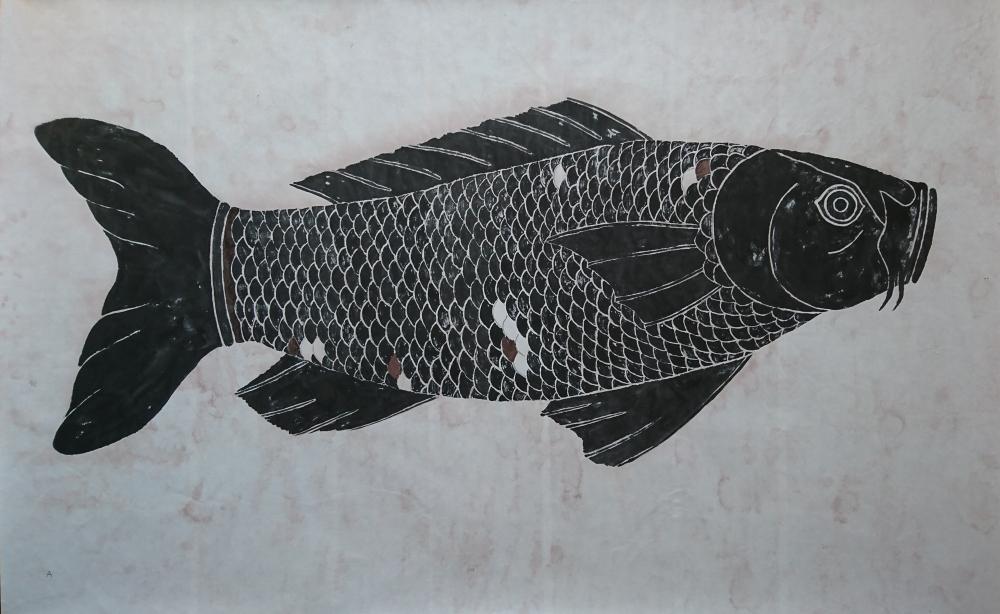 中島 淳志/黒像式 -鯉- 壱/exid35380wid14457