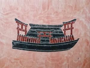 exid36264wid34621 / 黒像式 ー補陀落渡海船ー