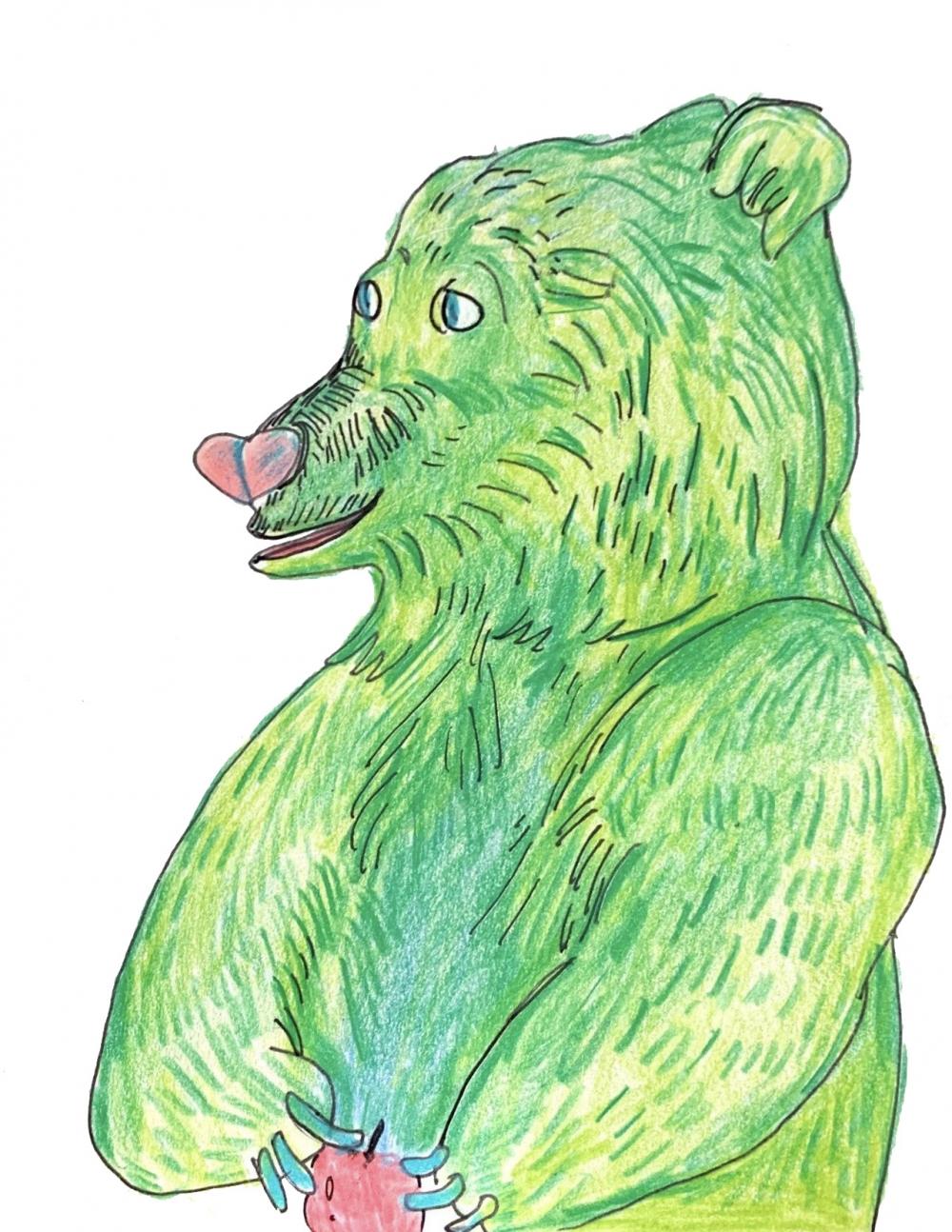 exid593wid567 / Green bear