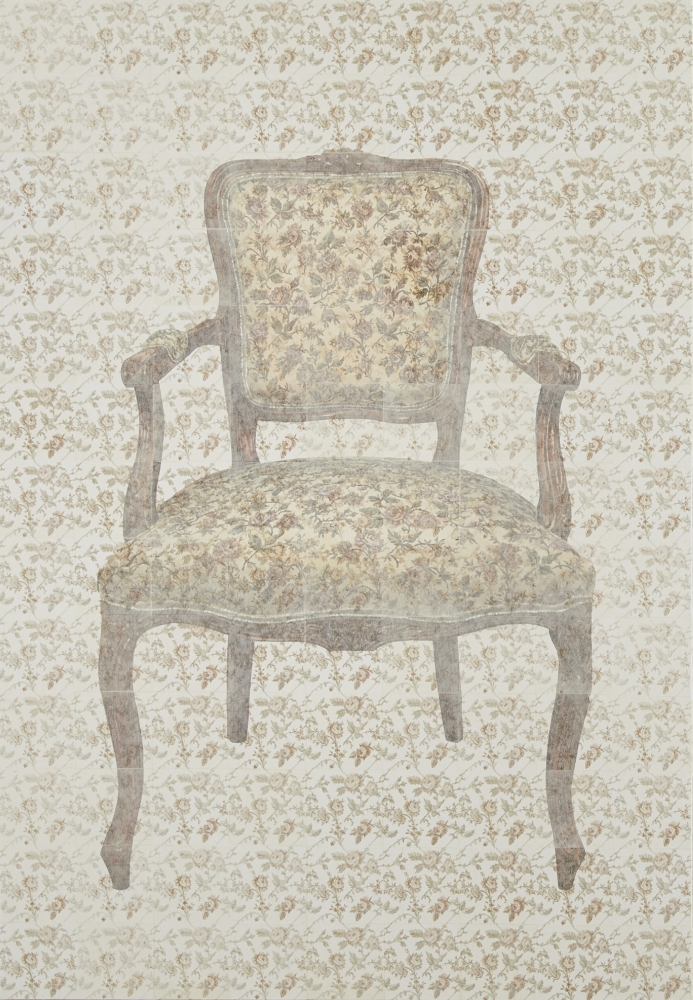 岸雪絵/chair / pattern #J019a/exid1566wid1610