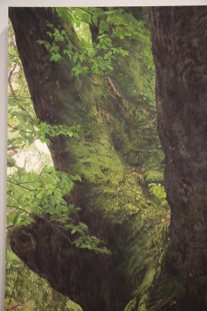 CAI QIN/木を見ている時-2