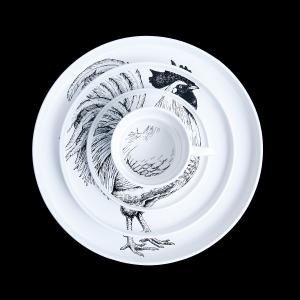 SYNC&Collective./SPECIMEN PORCELAIN SET - ROOSTER