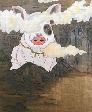 exid1520wid1564 / 山中豚神図
