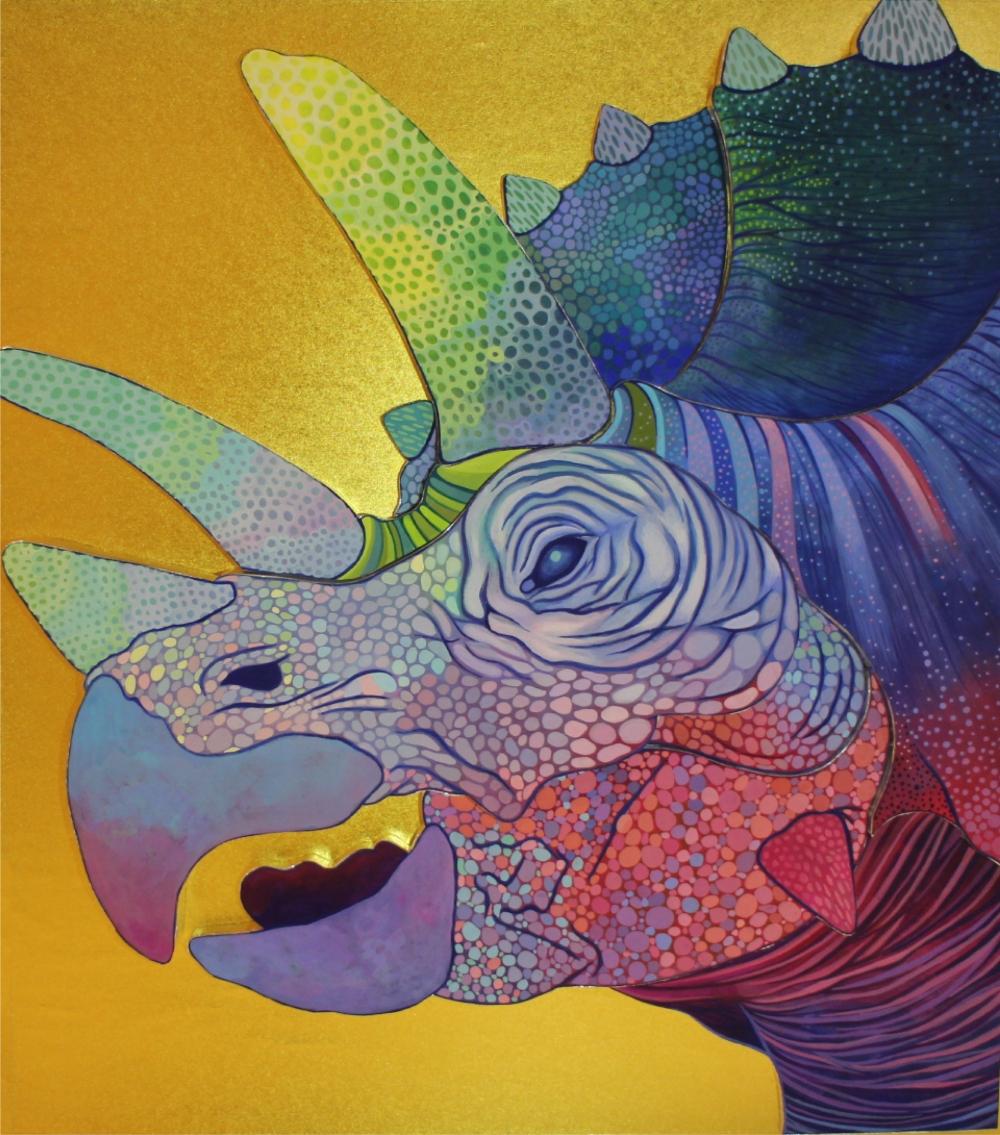 exid626wid596 / 恐竜【トリケラトプス】