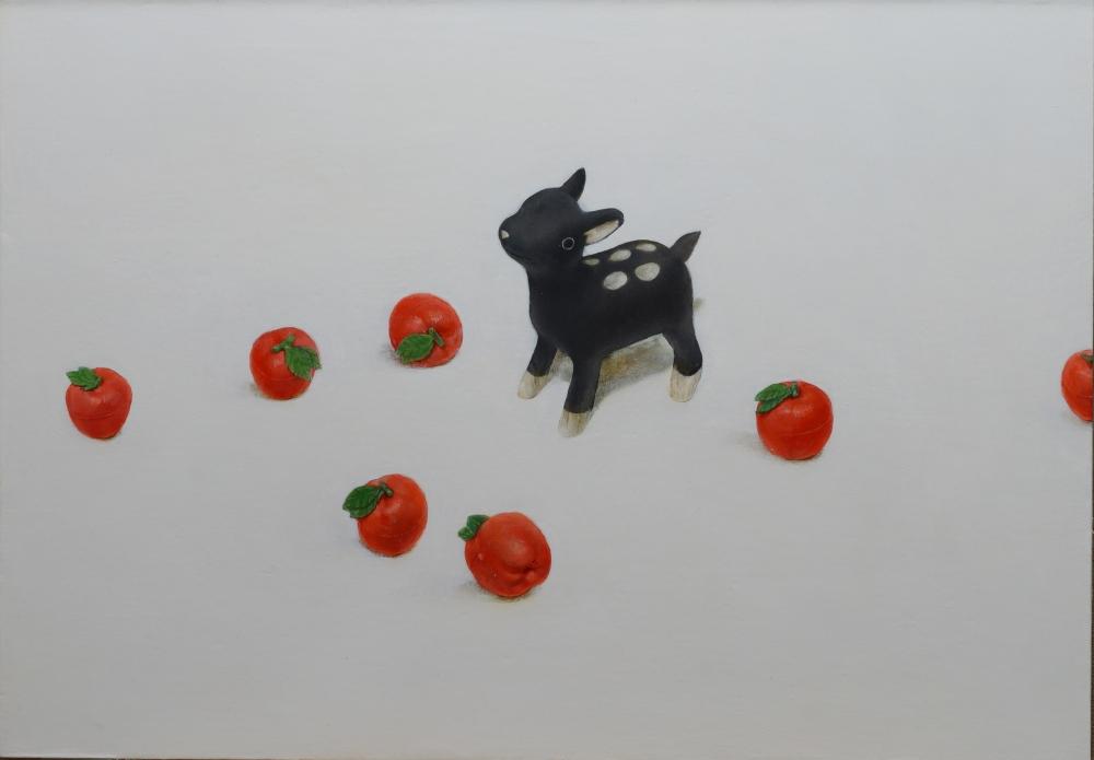 廣岡 元紀/鹿と玩具の林檎/exid15347wid12139