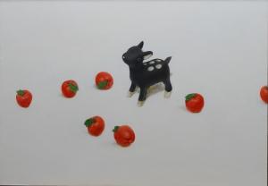 exid15347wid12139 / 鹿と玩具の林檎