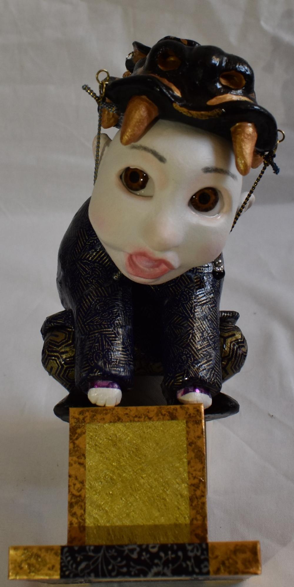 珠羽/阿形狛犬型童子/exid15385wid13849