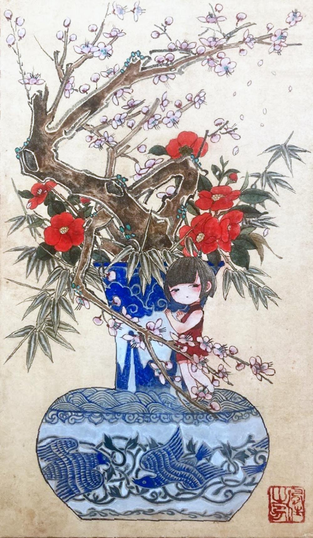 オギハラ フウカ/花籠の娘たち 冬/exid13780wid12530