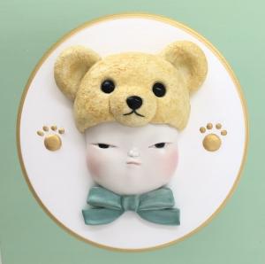 exid38614wid34709 / Teddy bear baby / テディベアの威を借る