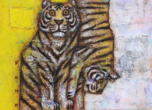 exid34789wid13866 / Two tigers