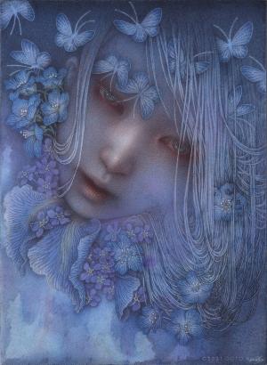 exid36051wid34408 / 青い花