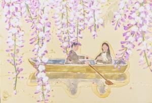 exid33031wid31683 / 藤紫の庭