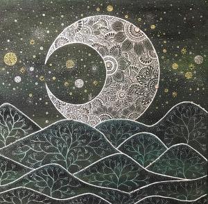 exid36541wid34898 / 山照らす月