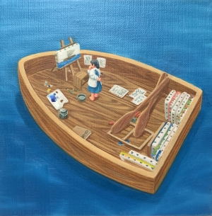 exid1344wid1306 / 画家の船