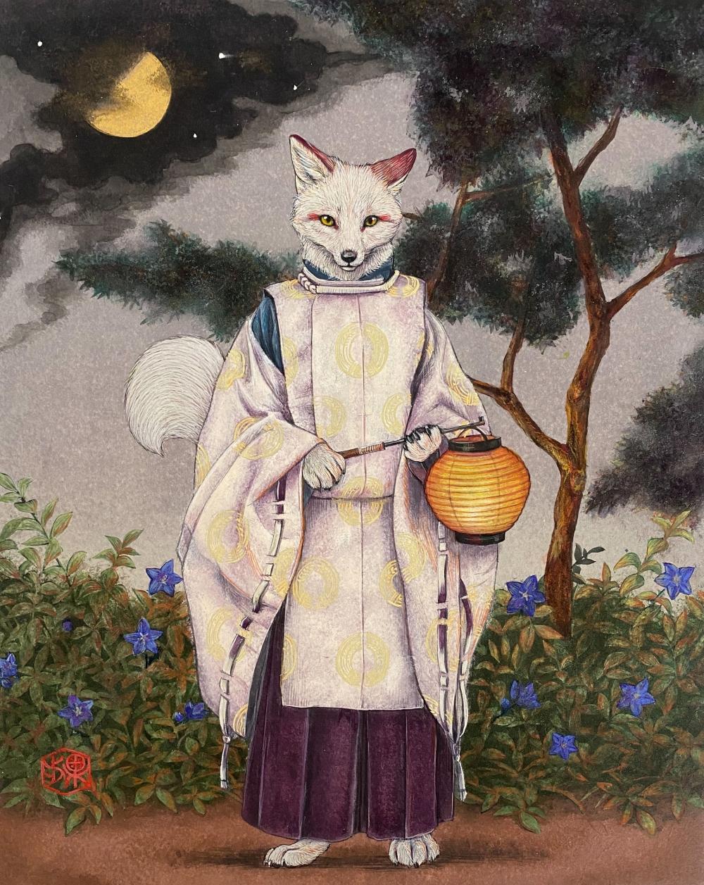 西川 果歩/白狐妖奇譚ー弦月ー/exid784wid746
