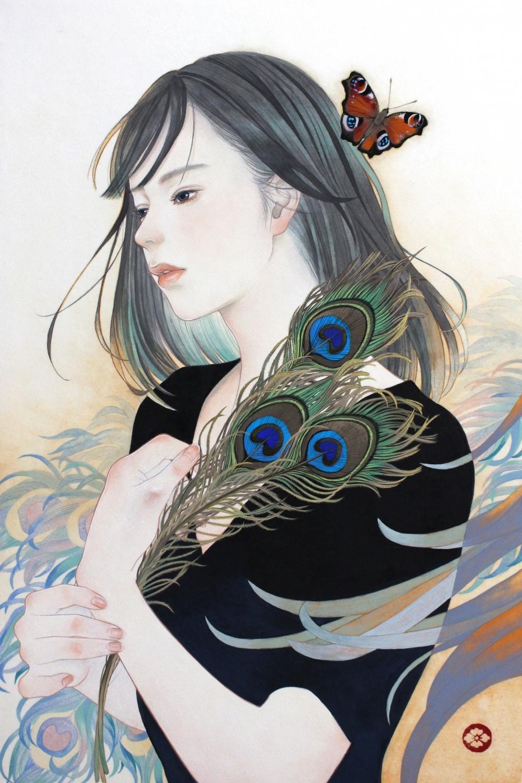 花菱 慧/蝶よ花よ-孔雀蝶-/exid35736wid34093