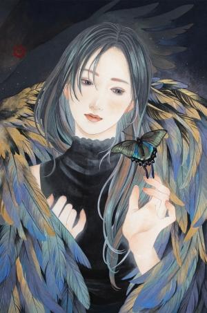 花菱 慧/蝶よ花よ-烏揚羽-