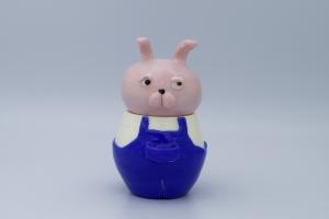 exid38583wid36057 / ウサギの蓋物