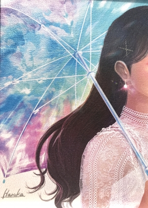 遥/虹色の傘